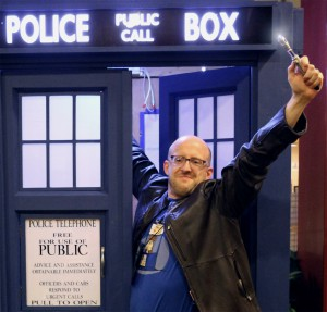 Jim + TARDIS
