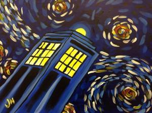 Tardis Painting