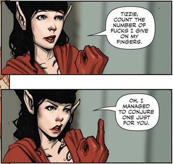 Hannah, from Rat Queens