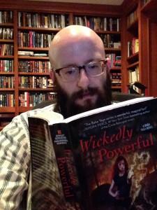 Jim, reading Wickedly Powerful