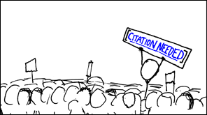 xkcd: citation needed
