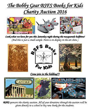 Charity Auction Flyer
