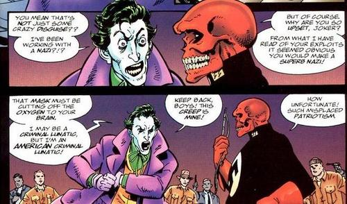 Even the Joker hates Nazis