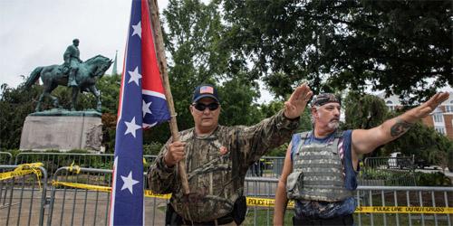 Nazi salutes