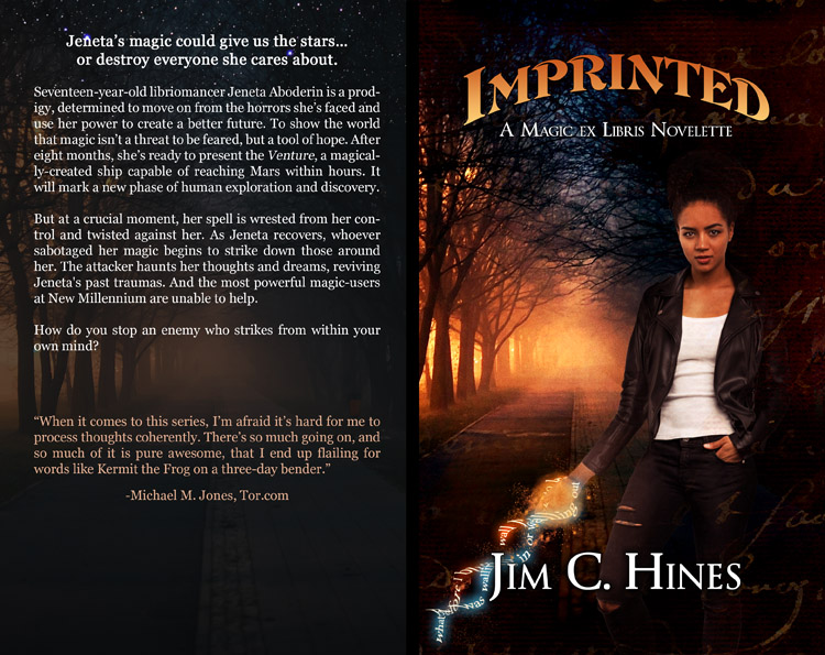 Imprinted: Paperback Cover