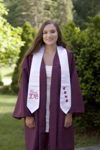 Daughter's graduation photo