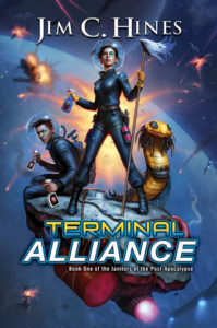 Terminal Alliance - Papberback Cover Art