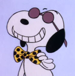 Snoopy - Bow Tie