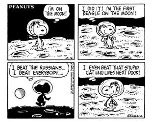 Snoopy - Moon