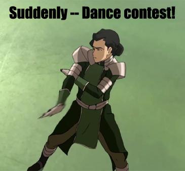 Korra-DanceContest