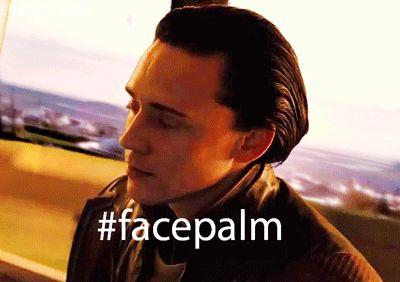 Loki Facepalm