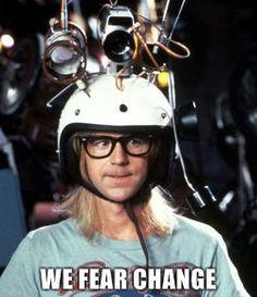 Garth - We Fear Change
