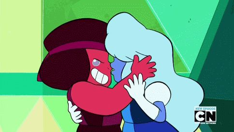 Ruby and Sapphire (gif)