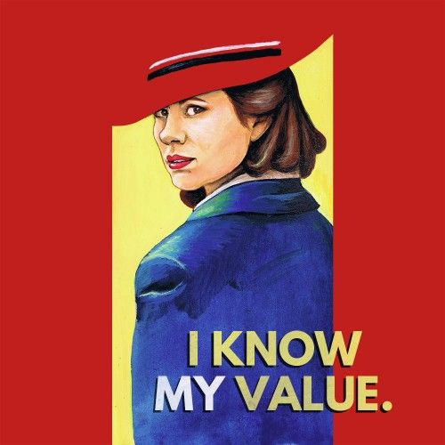 Peggy Carter - I Know My Value