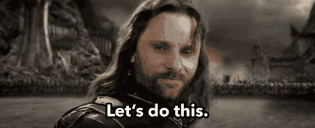 Aragorn - Let's Do This (gif)