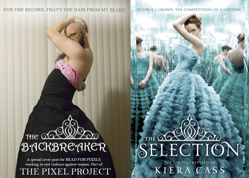 Cover Pose for The Selection