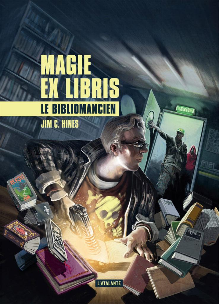 Libriomancer: French Cover