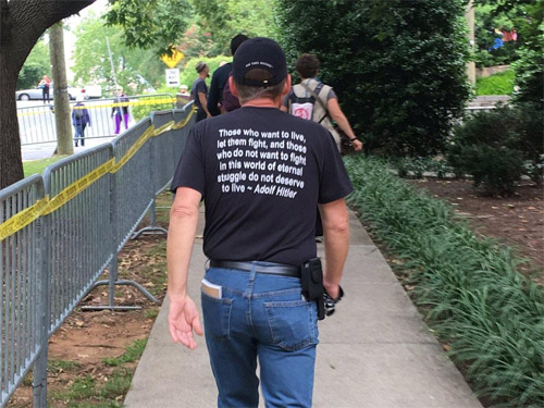 Hitler quote on shirt