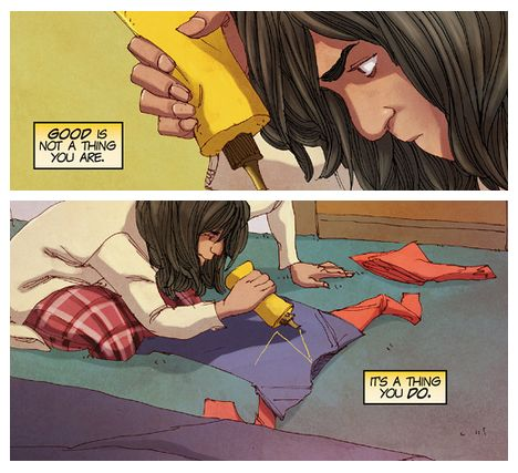 Ms. Marvel: Good is a thing you do.