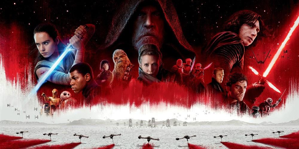 The Last Jedi Cast Poster
