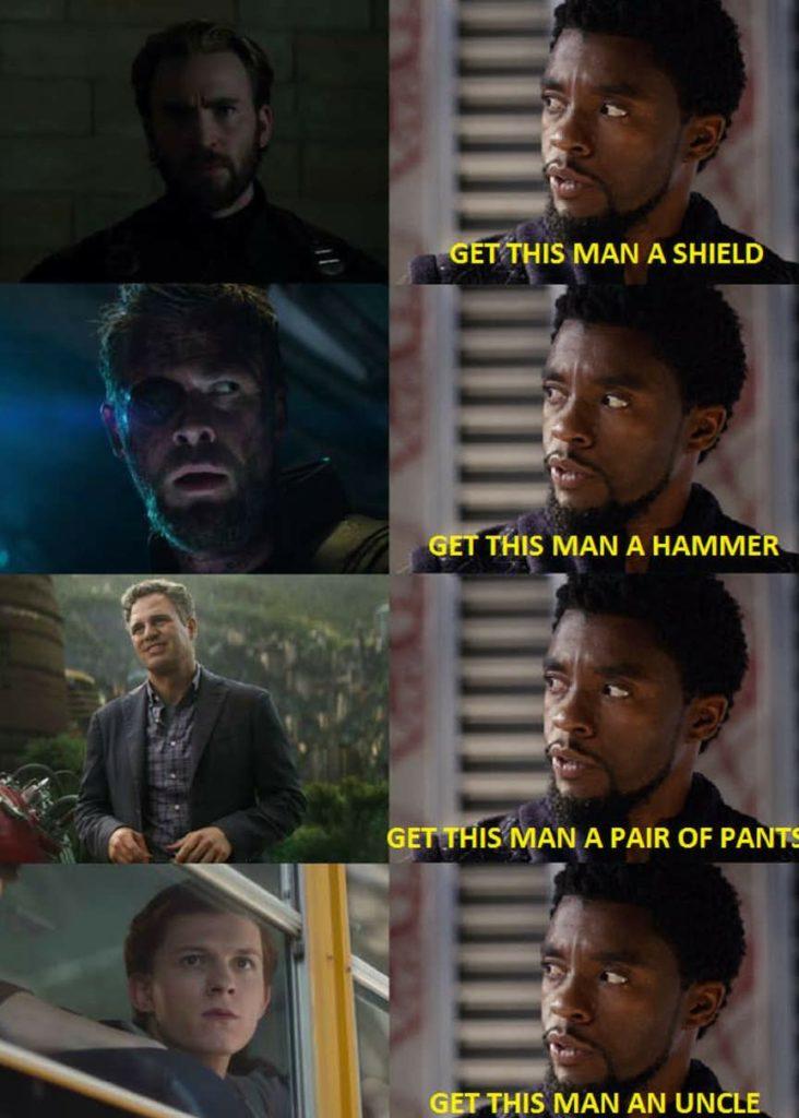 Get This Man a Shield Meme