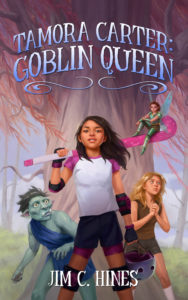 Goblin Queen Cover Art by Leanna Crossan